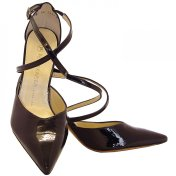 cross strap high heels by Kaiser