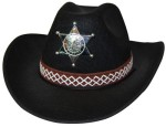 sheriff star on hat
