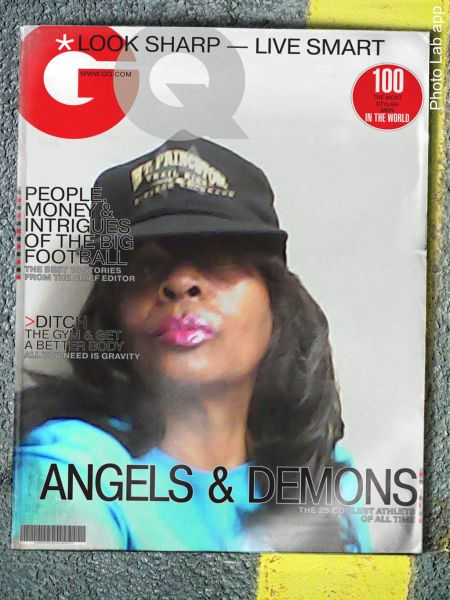Renee Ashley Baker GQ cover