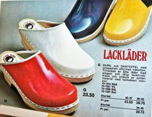 Swedish clogs