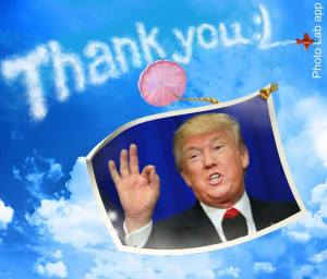Donald Trump Thank You Im Huge