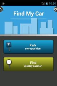 Find My Car app