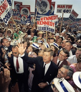 President John F Kennedy at DNC Convention