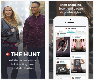 the_hunt shopping app