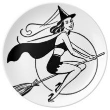 retro_witch_samantha_by_reneeab9_pocelain_plate