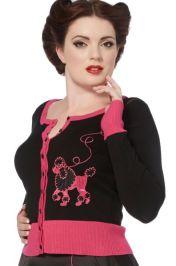 voodoo-vixen-pink-poodle-cardigan