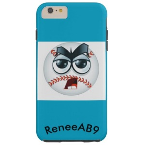emoji_baseball_umpire_curve_ball_by_reneeab9_tough_iphone_6_plus_case-rb