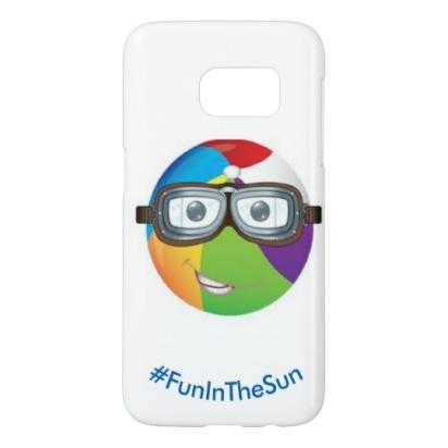 emoji_fun_in_the_sun_by_reneeab9_samsung_galaxy_s7_case