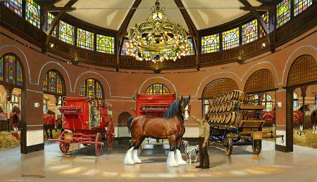 st-louis-clydesdale-stables-art