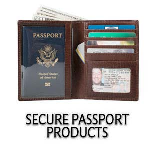 I D Stronghold Passport Wallet