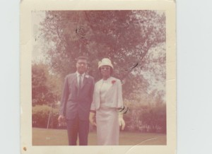 My Sister Miss M and her Husband the Master Sargent 1960 Denver Colorado