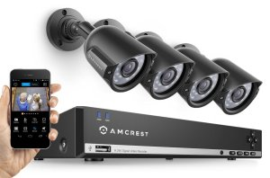 Amcrest Security System Waterproof Night Vision