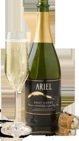 Ariel Brut Cuvee non alcoholic champagne