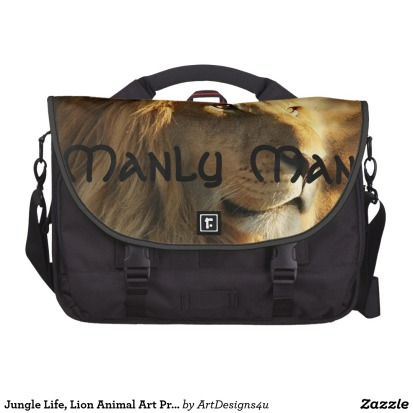 Celtic Lion Laptop Commuter Bag by Manly Man