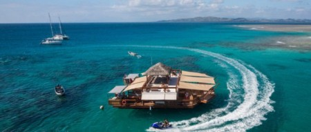 Cloud 9 Floating Restaurant and Bar Fiji