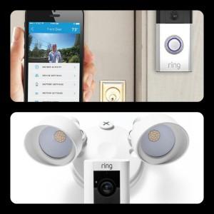 Ring Floodlight Cam and Doorbell Cam