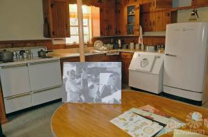 Ruth Paine Museum Irving Texas 2 vintage-kitchen-knotty-pine