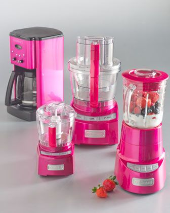 Pink appliances from Neiman Marcus