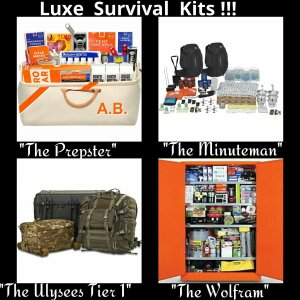 Luxe Survival Kits