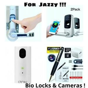 Bio Locks and Spy Cams