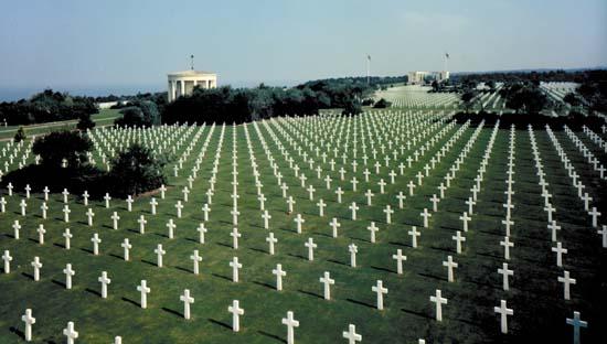 Normandy Miitary Cemetary