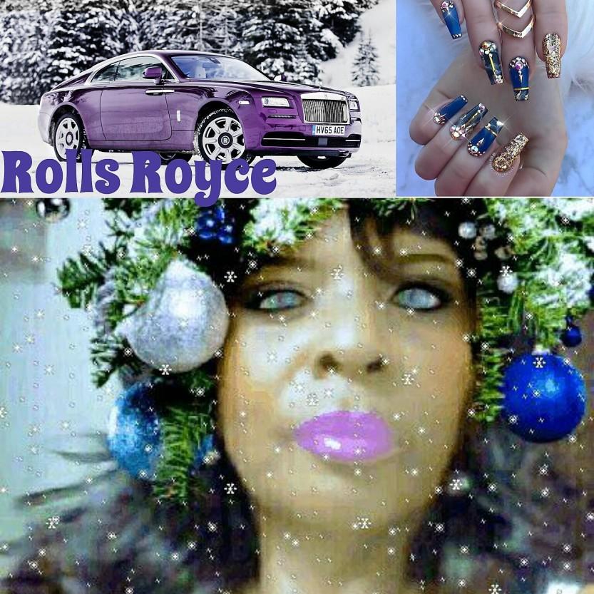 Renee Ashley Baker rolls royce mock