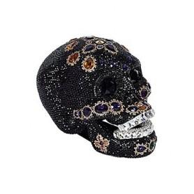 xmas Swarovski skull