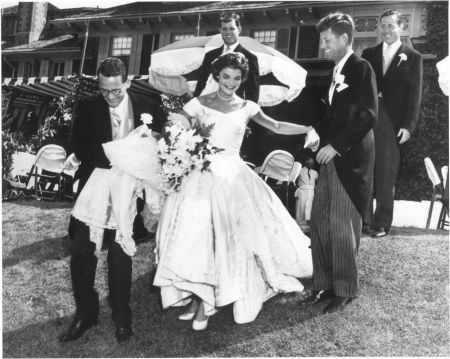 President John F Kennedy and Jackie Wedding