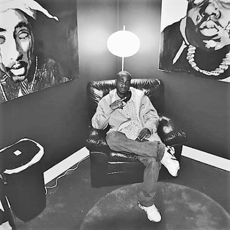 Lendell Ashley Tupac Biggie poster