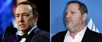 Kevin Spacey and Harvey Weinstein