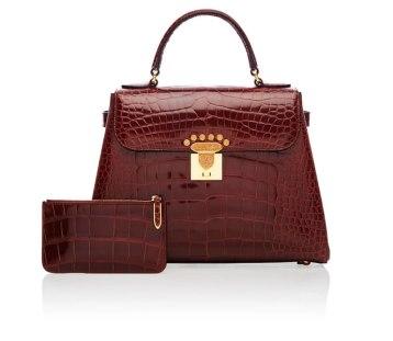 Asprey Croc Handbag
