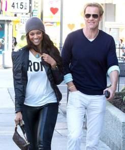 Tyra Banks and husband Erik