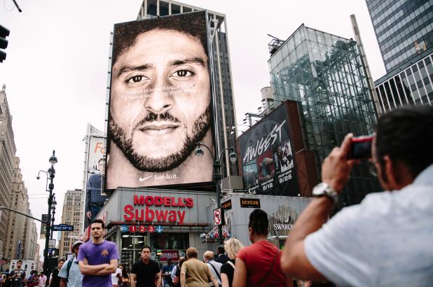 Colin_Kaepernick in Nike Ad