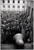 lessing_erich_1956 Budapest Crowd Outside Petofi Club