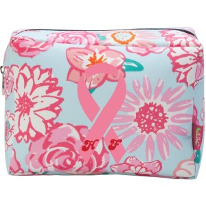 Helene Fourment by Rubens Pink Ribbon Make Up Bag